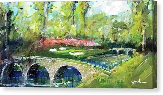 Augusta Canvas Print - Augusta 12th by Dave Baysden