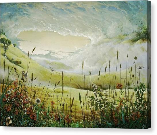 AUM Canvas Print by Boris Koodrin