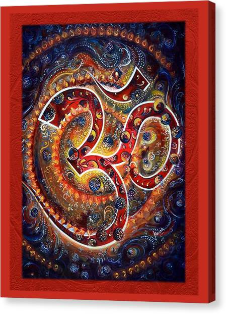 Aum - Vibrations Of Supreme Canvas Print