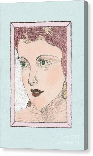 Aunt Edie Canvas Print