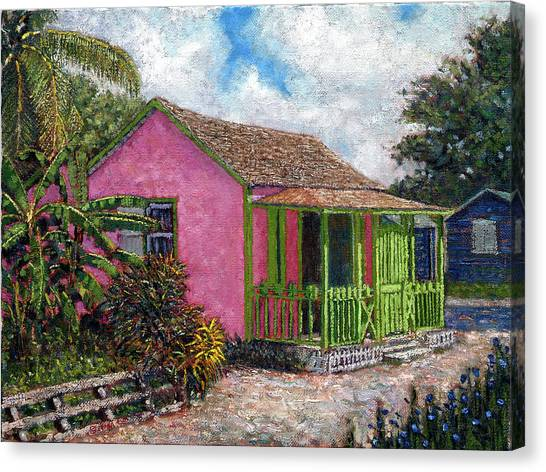 Aunt Suzy's Cottage Canvas Print