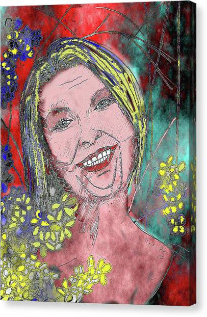 Aunty Canvas Print