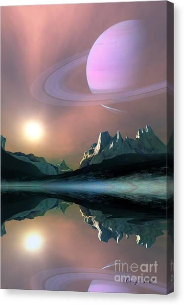 Stellar Canvas Print - Aura by Corey Ford