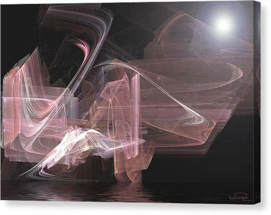 Aurora Canvas Print by Emma Alvarez