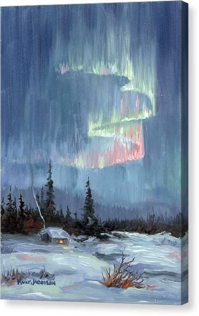 Aurora Lights Canvas Print