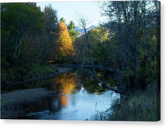 Ausable River Autumn Canvas Print