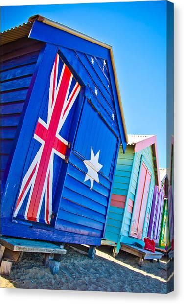 Victoria Canvas Print - Aussie Beach Shack by Az Jackson