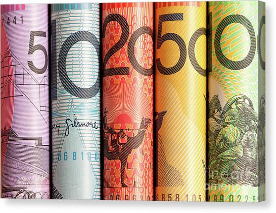 Canvas Print - Aussie Dollars 05 by Rick Piper Photography