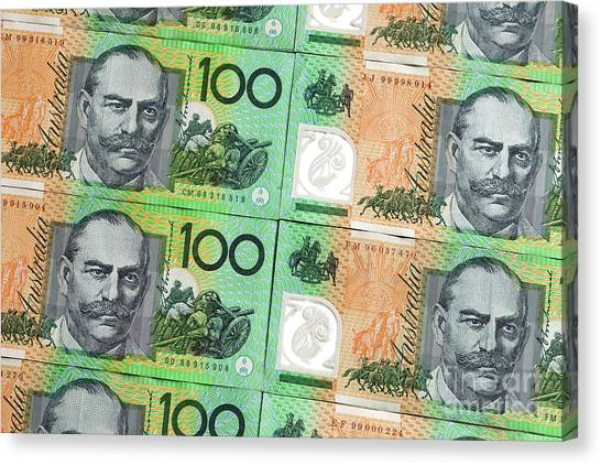 Canvas Print - Aussie Dollars 09 by Rick Piper Photography