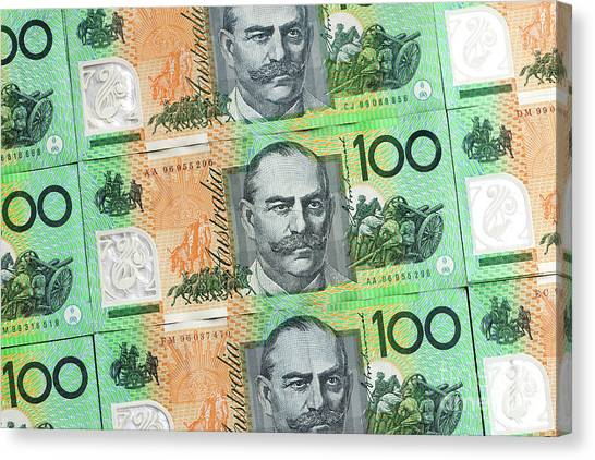 Canvas Print - Aussie Dollars 10 by Rick Piper Photography