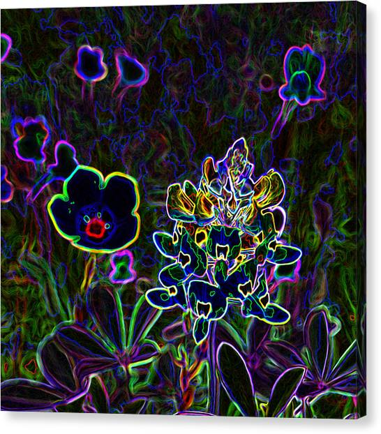 Austin Flowers After The Party Canvas Print
