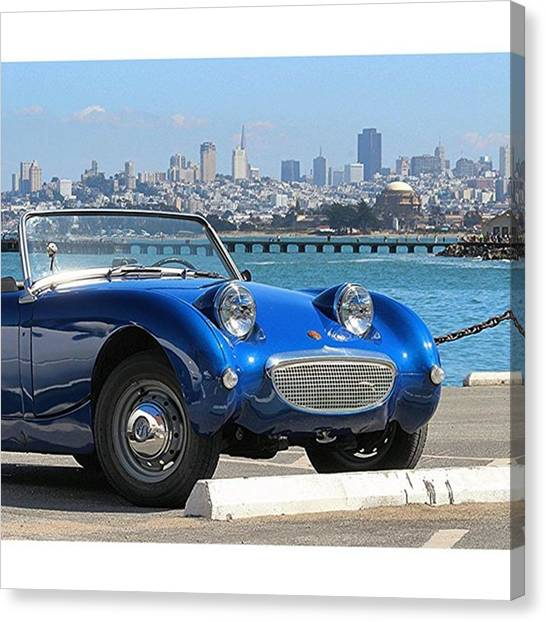 Sprite Canvas Print - Austin Healey by Vadim Shamilov