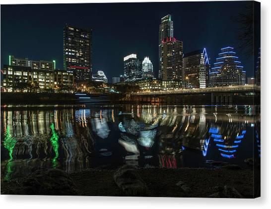 Austin Reflections Canvas Print