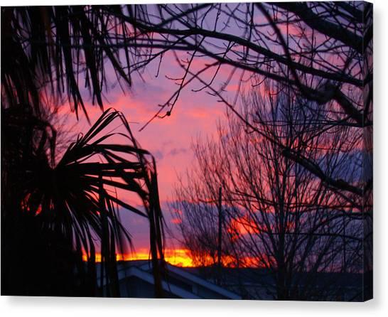 Austin Sunset I Canvas Print