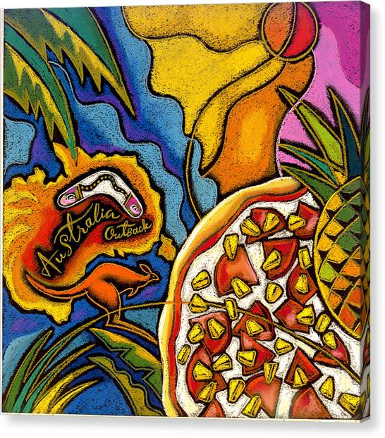 Pizza Canvas Print - Australia  by Leon Zernitsky