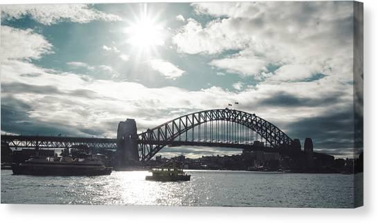 Koala Canvas Print - Australian Bridge by Lie Gabrian Suryali