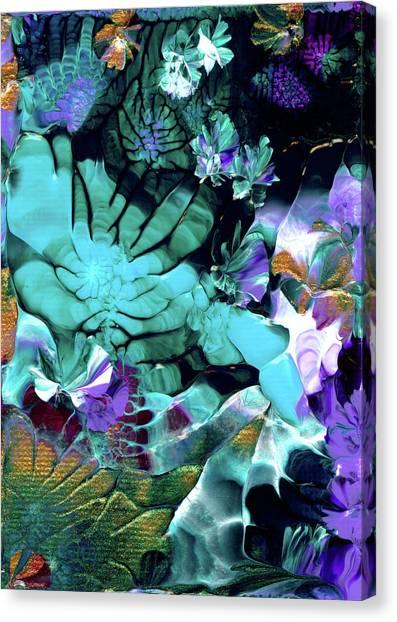 Australian Emerald Begonias Canvas Print