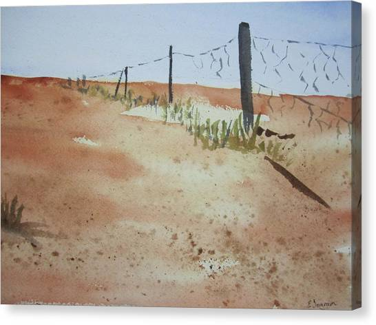 Australian Outback Track Canvas Print