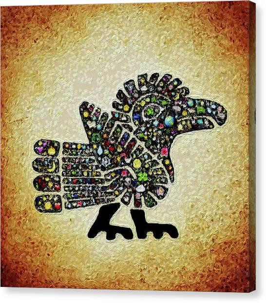 Authentic Aztec Wall Art Canvas Print