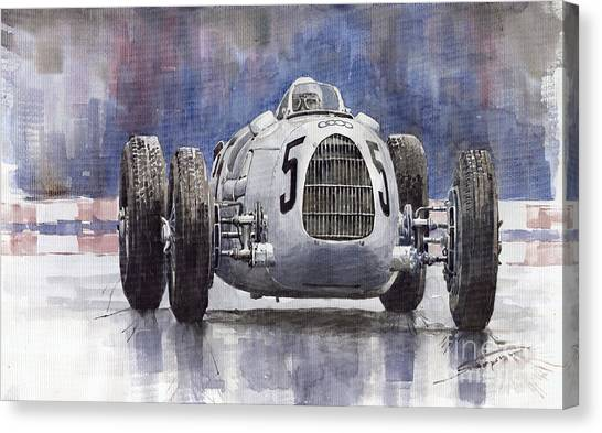 Auto Canvas Print - Auto-union Type C 1936 by Yuriy Shevchuk