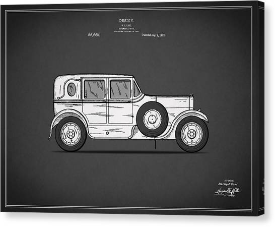 Car blueprint canvas prints page 2 of 25 pixels car blueprint canvas print automobile patent 1921 by mark rogan malvernweather Gallery
