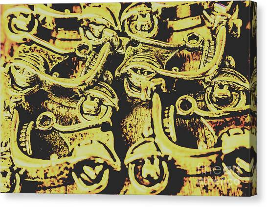 Grunge Canvas Print - Automotive Pop Art by Jorgo Photography - Wall Art Gallery