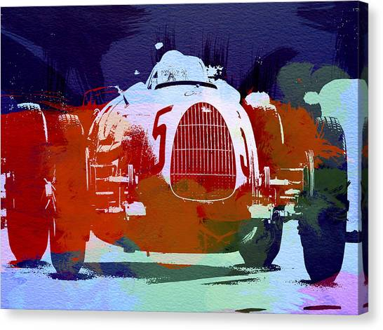 Audi Canvas Print - Autounion  by Naxart Studio