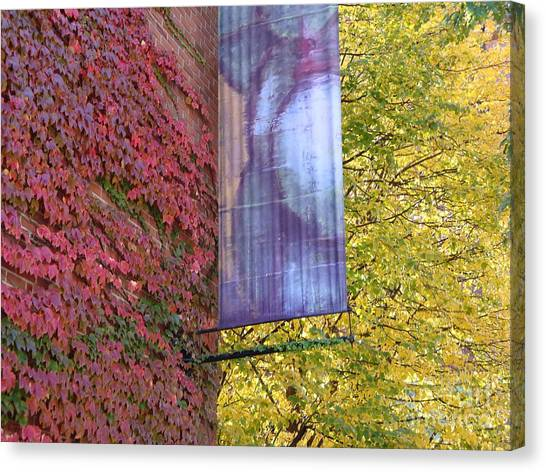 Autum Colors Canvas Print by Robyn Leakey