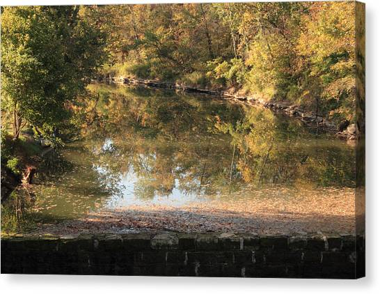 Autumn Afternoon Canvas Print by Lone Dakota Photography