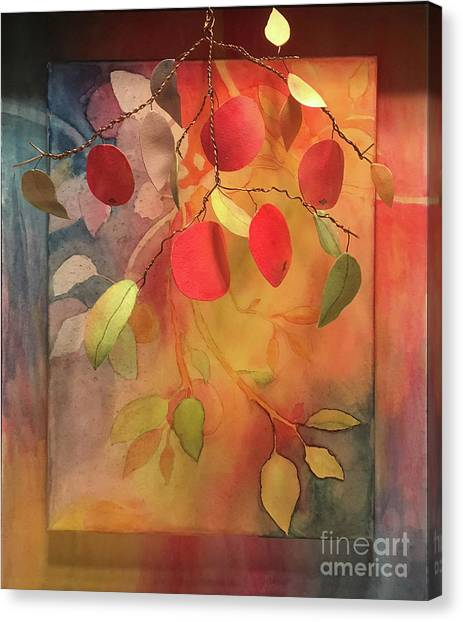Autumn Apples 3d Canvas Print