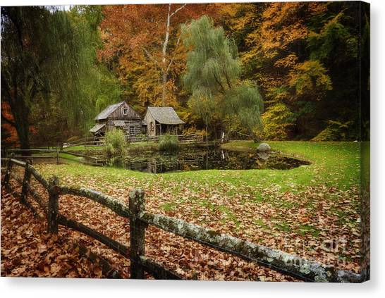 Autumn At Cuttalossa Farm V Canvas Print