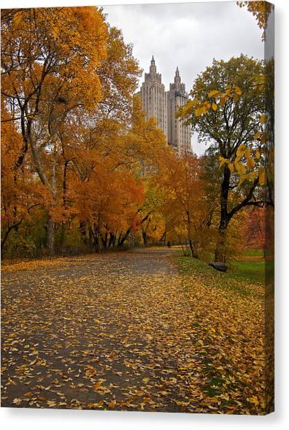 Autumn At The El Dorado Canvas Print