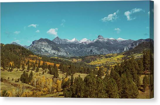 Canvas Print featuring the photograph Autumn At The Weminuche Bells by Jason Coward