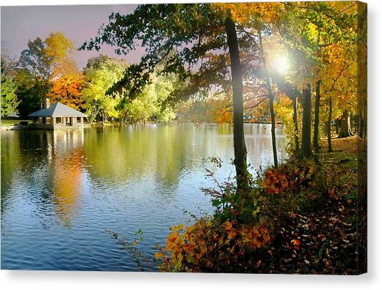Autumn At Tilley Pond Canvas Print