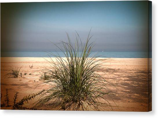 Autumn Beach Canvas Print