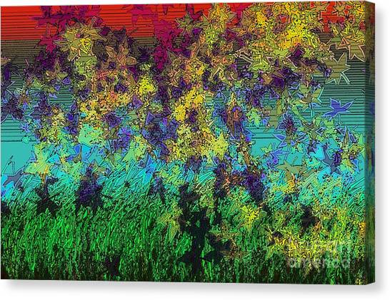 Autumn Breeze Canvas Print by Patrick Guidato