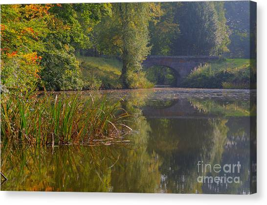 Stamford Bridge Canvas Print - Autumn Calm by Steev Stamford