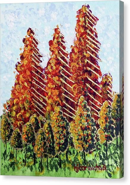 Autumn Christmas Canvas Print