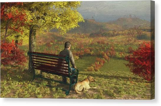 Autumn Companions Canvas Print