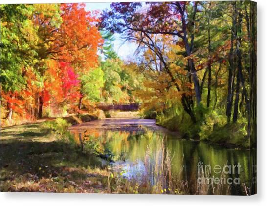 Autumn Delight Canvas Print