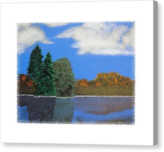 Autumn Dusk- A Tribute To Ross Canvas Print by Robert Boyette