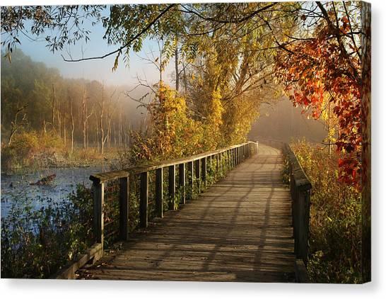 Autumn Emerging Canvas Print
