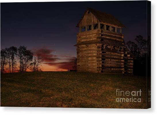 Groundhogs Canvas Print - Autumn Fall Colors 11 by Dan Carmichael