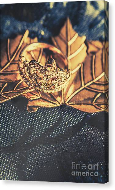 The Crown Canvas Print - Autumn Fashion Diamonds by Jorgo Photography - Wall Art Gallery