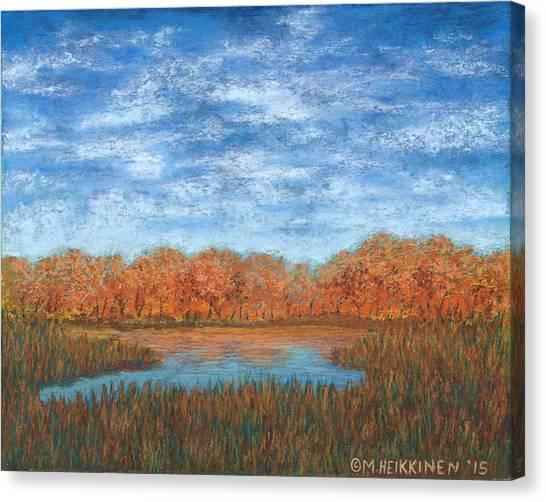 Autumn Field 01 Canvas Print