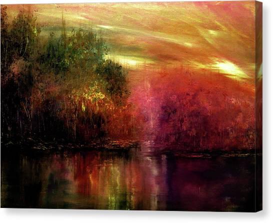 Autumn Hues Canvas Print by Ann Marie Bone
