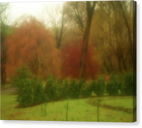 Autumn In Brandywine Park Canvas Print