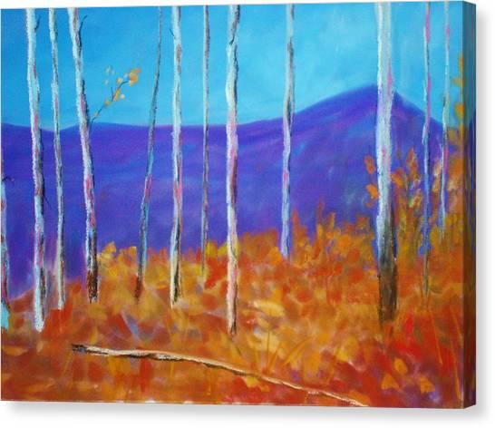 Autumn In Cloudcroft Canvas Print