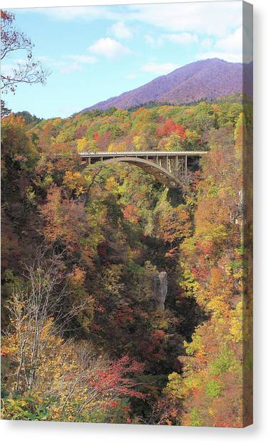 Autumn In Colors Canvas Print by Koichi Watanabe