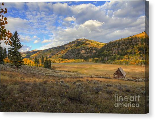 Autumn In Joe's Valley Canvas Print